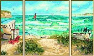 Schipper Malen nach Zahlen - Sommerfrische (Triptychon)