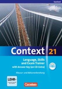 Context 21. Workbook mit Lösungsschlüssel und CD-ROM. Saarland