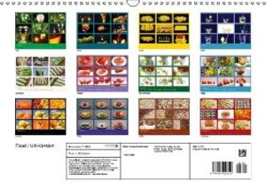 Food / UK-Version (Wall Calendar 2015 DIN A3 Landscape)