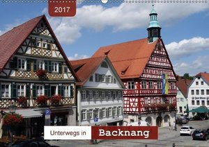 Unterwegs in Backnang (Wandkalender 2017 DIN A2 quer)