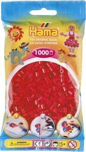 Hama 207-05 - Perlen rot, 1000 Stück