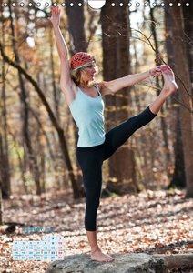 Yoga in der Natur (Wandkalender 2016 DIN A4 hoch)