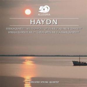 Streichquartette op.76,2+3 (Haydn,Joseph)