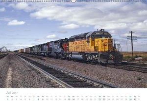 US Diesellokomotiven (Wandkalender 2017 DIN A2 quer)