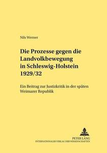 Die Prozesse gegen die Landvolkbewegung in Schleswig-Holstein 19