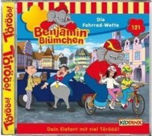 Benjamin Blümchen 121. Die Fahrrad-Wette