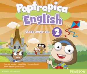 Poptropica English American Edition 2 Audio CD