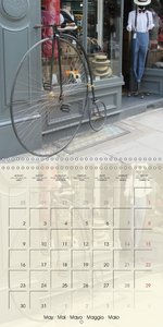 Bike variations (Wall Calendar 2016 300 × 300 mm Square)