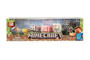 Minecraft - ANIMAL TOY Multipack Spielfiguren Mobs Tiere
