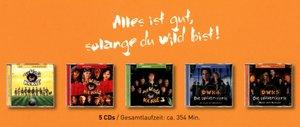 Die wilden Kerle CD-Box 1-5 (Hörspiel)