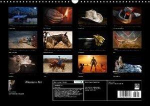 Western Art (Wall Calendar 2015 DIN A3 Landscape)