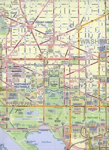 Washington DC 1 : 12 500 / Eastern Corridor 1 : 1 000 000