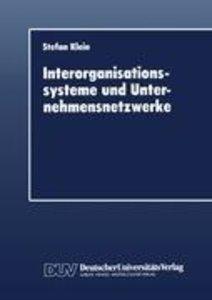 Interorganisationssysteme und Unternehmensnetzwerke