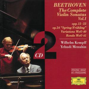 Violinsonaten 1-5/Variationen/Rondo