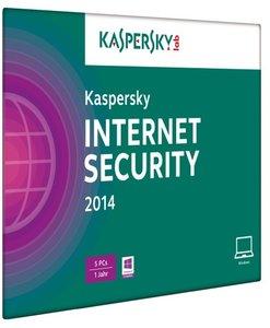 Kaspersky Internet Security 2014 5 Lizenzen (FFP). Für Windows X