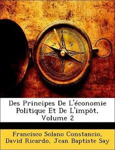 Des Principes De L'économie Politique Et De L'impôt, Volume 2