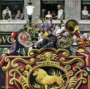 Schmidt Spiele 58777 - Stevan Dohanos: Clown-Parade, 1000-tlg. P