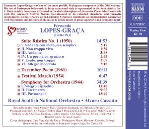 Symphonie f.Orchester/Suite Rustica