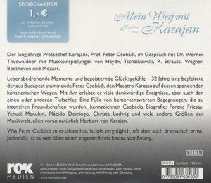 Mein Weg mit Karajan - Prof. Peter Csobádi erinnert sich