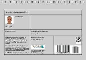 Eppele, K: Aus dem Leben gegriffen (Tischkalender 2015 DIN A