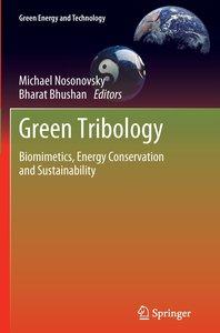 Green Tribology
