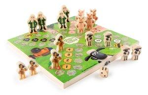 Legler 1255 - Shaun das Schaf Ludo, Brettspiele