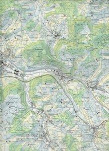 Swisstopo 1 : 25 000 Frick