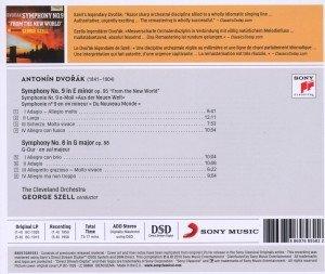 """Sinfonien 9 """"Aus der Neuen Welt"""" & 8"""