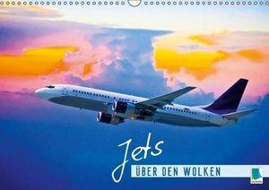 CALVENDO: Jets: Über den Wolken (Wandkalender 2015 DIN A3 qu