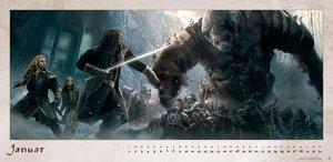 Der Hobbit Panoramakalender - Kalender 2017