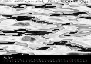 Watervision in B&W / 2015 (Wall Calendar 2015 DIN A4 Landscape)