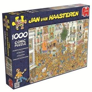 Jan van Haasteren - Königliche Amtseinführung - 1000 Teile