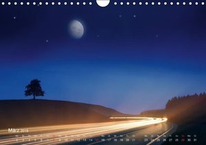 Nägele F. R. P. S. , E: Mondnacht (Wandkalender 2015 DIN A4