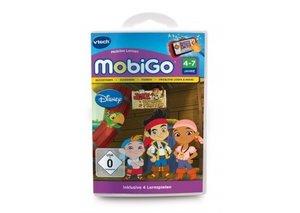 VTech 80-252804 - MobiGo: Lernspiel Jake und die Nimmerland Pira