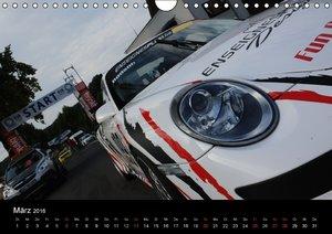 Auto - Bergrennen (Wandkalender 2016 DIN A4 quer)