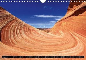 Coyote Buttes Vermillion Cliffs N.M. (Wall Calendar 2015 DIN A4