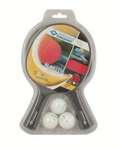 Donic Schildkröt Tischtennis - Playtec Set, 2x Outdoor Schläger