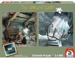 Schmidt Spiele 59602 - Unkrautland: Quadratpuzzles, In den Kobol