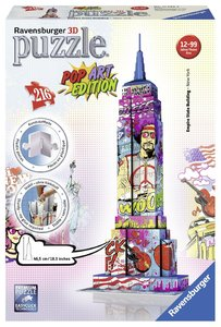 Pop Art Edition - Empire State Building 3D Puzzle-Bauwerke