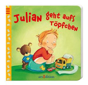 Julian geht aufs Töpfchen