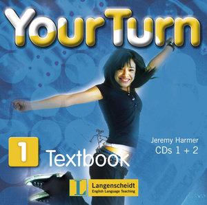Your Turn 1. 5. Schulstufe. 2 Audio-CDs