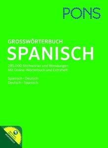 PONS Großwörterbuch Spanisch mit CD-ROM