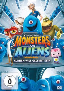 Monsters vs. Aliens - Klonen will gelernt sein