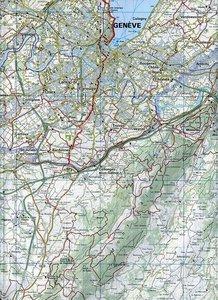 KuF Schweiz Wanderkarte 21 Genève 1 : 60 000