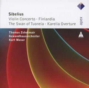 Violin Concerto/Finlandia/Swan Of Tuonela/+