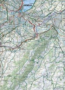 KuF Schweiz Radkarte 17 Genf 1 : 60 000
