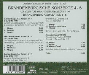 Bach/Brandenb.Konzerte 4-6