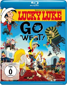 Lucky Luke,Go West!-Blu-ray Disc