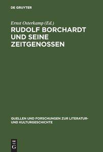 Rolf Borchardt und seine Zeitgenossen