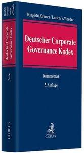 Kommentar zum Deutschen Corporate Governance Kodex